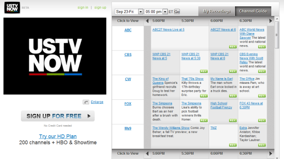 USTVnow - Watch Live American TV Shows Online